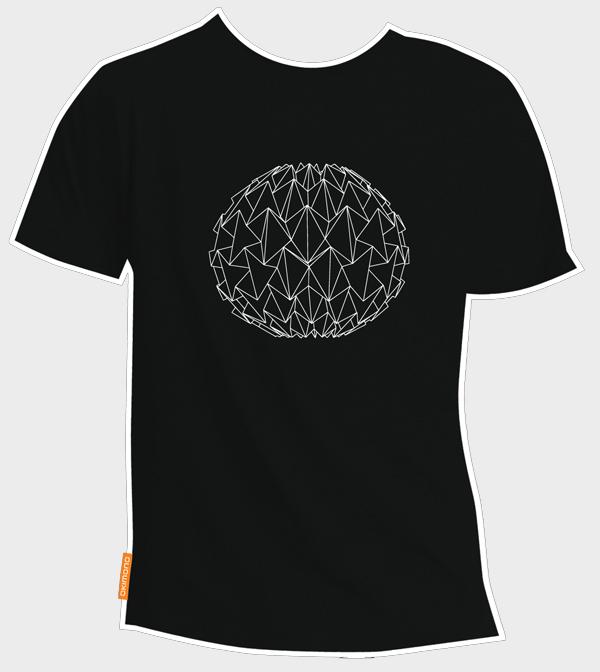 T-shirt La Bomba zwart