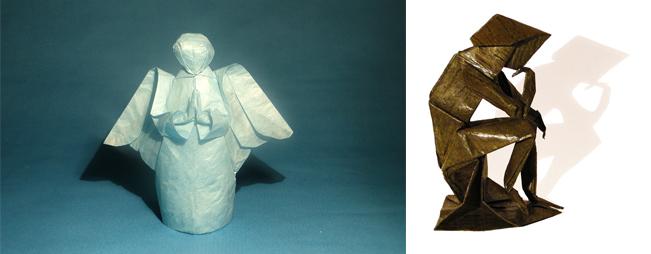 Human figures Neal Elias; folding Danielle Verbeeten