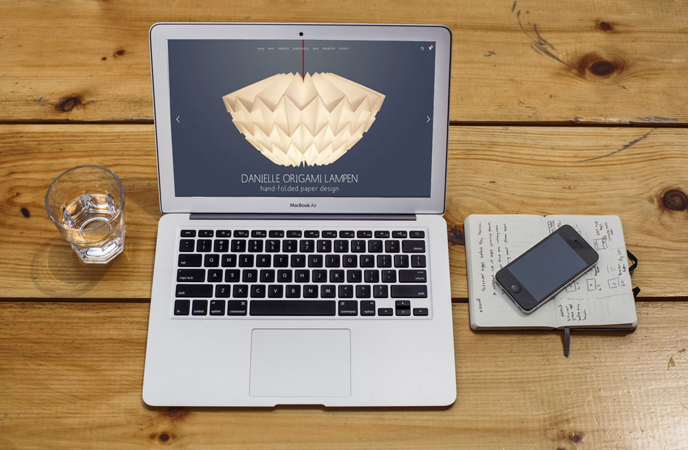 nieuwe-website danielle origami lampen