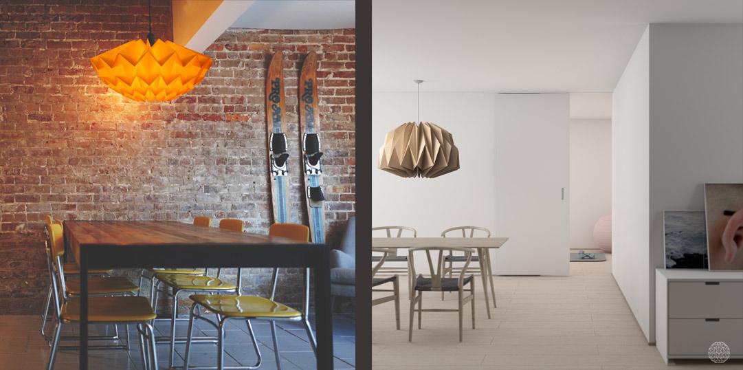gekleurde-lamp-boven-eettafel