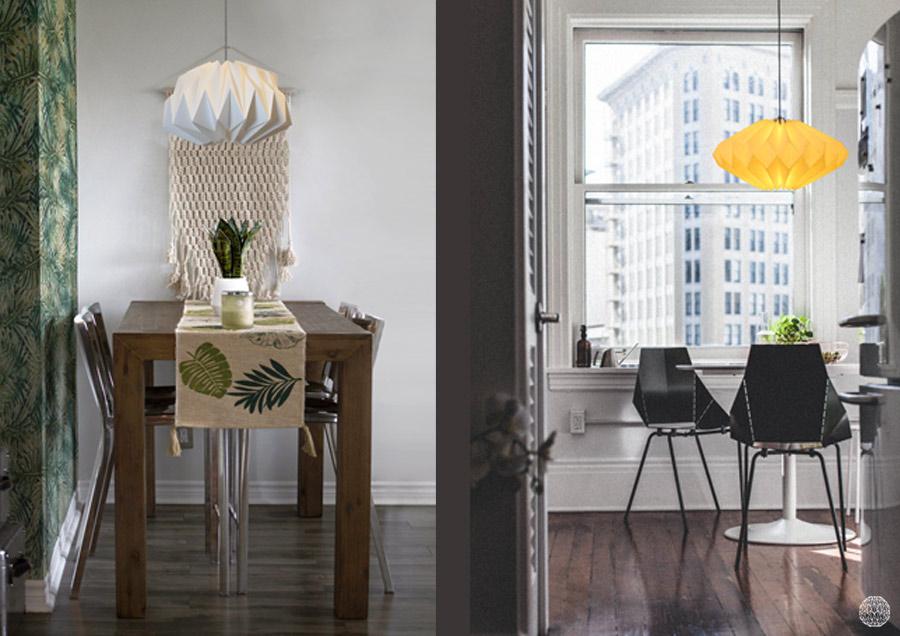 wit-en-gekleurde-lamp-voor-boven-eettafel